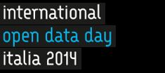 Logo International open data day Italia 2014